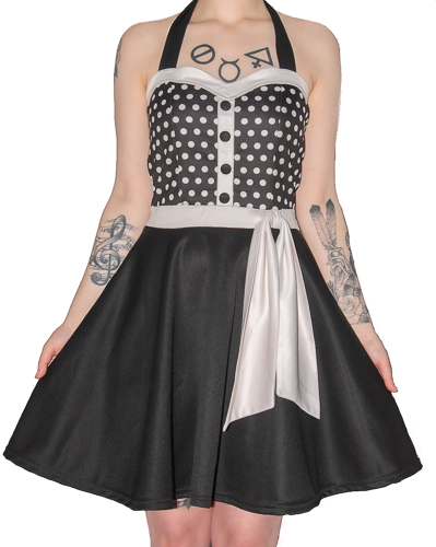 Mode Wichtig Rockabilly Dress